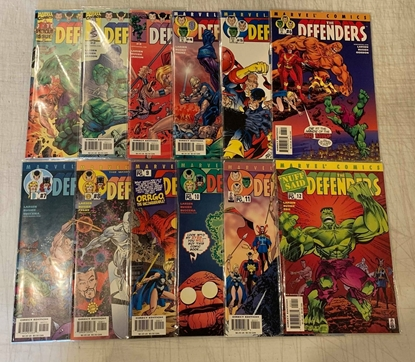 Picture of DEFENDERS (2001) #1-12 SET