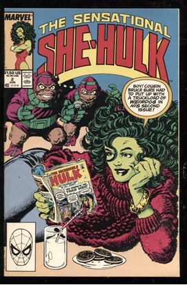 Picture of SENSATIONAL SHE-HULK (1989) #2 9.6 NM+
