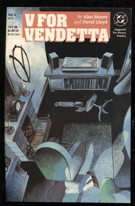 Picture of V FOR VENDETTA #2 9.4 NM