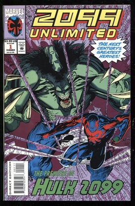 Picture of 2099 UNLIMITED (1993) #1 9.0 VF/NM