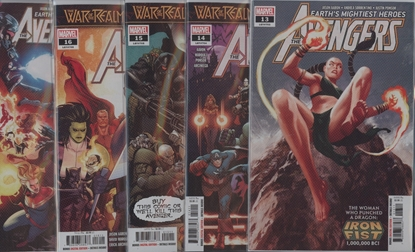 Picture of AVENGERS (2018) #13-17 WAR OF VAMPIRE SET