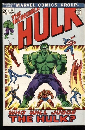 Picture of INCREDIBLE HULK (1962) #152 8.0 VF