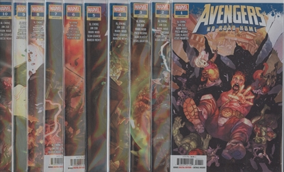 Picture of AVENGERS NO ROAD HOME #1-10 1ST PRINT SET NM