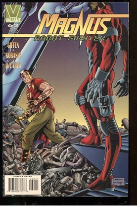 Picture of MAGNUS ROBOT FIGHTER (1991) #62 9.4 NM