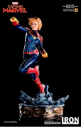 Picture of CAPTAIN MARVEL  1:10 IRON STUDIOS STATUE