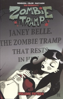 Picture of ZOMBIE TRAMP TP VOL 15 DEATH ZOMBIE TRAMP
