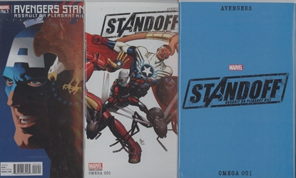 Picture of AVENGERS STANDOFF ASSAULT ON PLEASANT HILL OMEGA #1 COVER SET