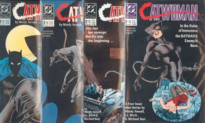 Picture of CATWOMAN (1989) #1-4 SET 1ST SERIES