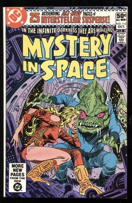 Picture of MYSTERY IN SPACE (1980) #112 9.4 NM