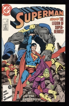 Picture of SUPERMAN (1987) #8 9.6 NM+