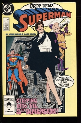 Picture of SUPERMAN (1987) #11 9.4 NM