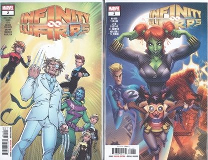Picture of INFINITY WARS INFINITY WARPS #1 -2 1ST PRINT SET NM