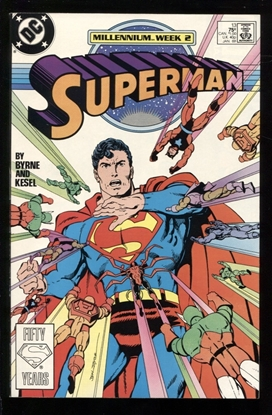 Picture of SUPERMAN (1987) #13 9.6 NM+