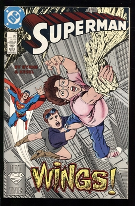 Picture of SUPERMAN (1987) #15 9.6 NM+