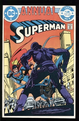 Picture of SUPERMAN (1983) ANNUAL #9 9.6 NM+