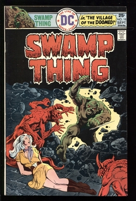 Picture of SWAMP THING (1973) #18 8.5 VF+