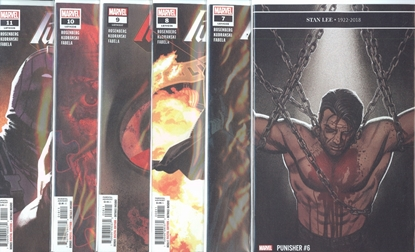 Picture of PUNISHER (2018) #6-11 1ST PRINT SET NM