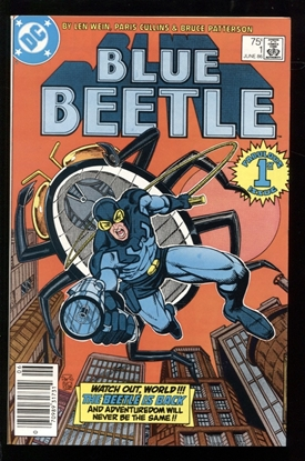Picture of BLUE BEETLE (1986) #1 9.6 NM+