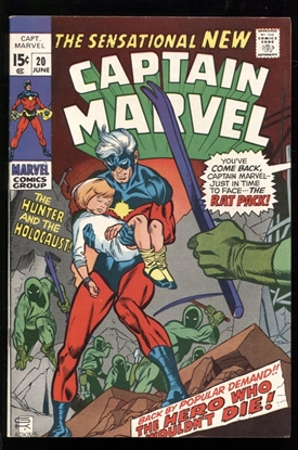 Picture of CAPTAIN MARVEL (1968) #20 8.0 VF