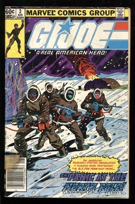 Picture of G.I. JOE (1982) #2 2.0 GD