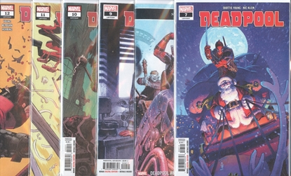 Picture of DEADPOOL #6-12 1ST PRINT SET NM