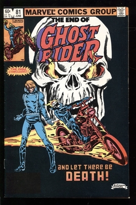 Picture of GHOST RIDER (1973) #81 7.5 VF-