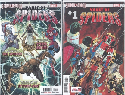 Picture of VAULT OF SPIDERS #1 & 2 1ST PRINT SET NM