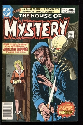 Picture of HOUSE OF MYSTERY (1952) #282 8.0 VF