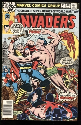 Picture of INVADERS (1975) #33 4.0 VG