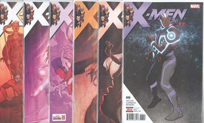 Picture of X-MEN RED (2018) #6-11 1ST PRINT SET NM