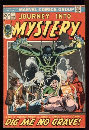 Picture of JOURNEY INTO MYSTERY (1972) #1 5.0 VG/FN