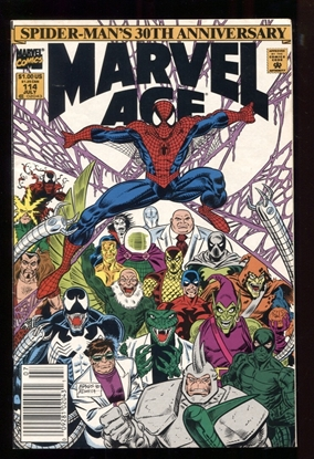 Picture of MARVEL AGE (1983) #114 6.0 FN