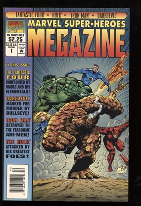 Picture of MARVEL SUPER-HEROES MEGAZINE #1 9.0 VF/NM