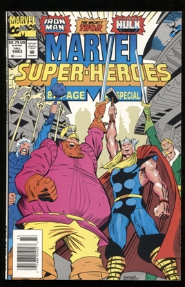 Picture of MARVEL SUPER-HEROES (1993) #15 9.2 NM-