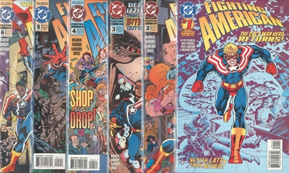Picture of FIGHTING AMERICAN (1994) #1-6 VF/NM SET