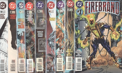 Picture of FIREBRAND (1996) #1-9 SET NM-