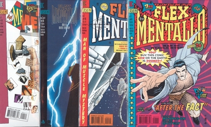 Picture of FLEX MENTALLO (1996) #1-4 SET VF/NM