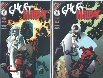 Picture of GHOST HELLBOY SPECIAL #1 2 SET VF/NM