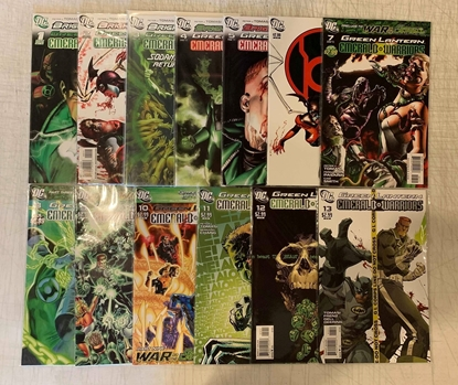 Picture of BRIGHTEST DAY GREEN LANTERN EMERALD WARRIORS #1-13 SET NM-