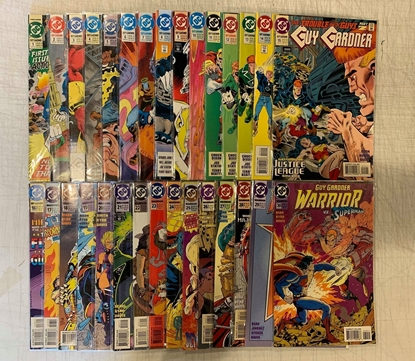 Picture of GUY GARDNER (1992) #1-44 +ANN 1 & 2 SET VF/NM