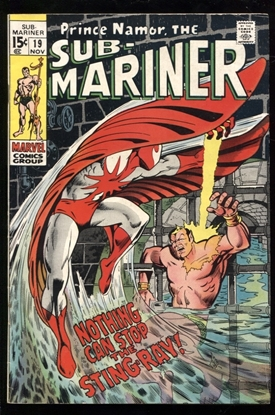 Picture of SUB-MARINER (1968) #19 6.0 FN
