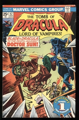 Picture of TOMB OF DRACULA (1972) #42 6.5 FN+