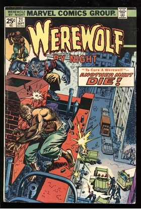 Picture of WEREWOLF BY NIGHT (1972) #21 6.0 FN