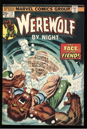 Picture of WEREWOLF BY NIGHT (1972) #22 6.0 FN