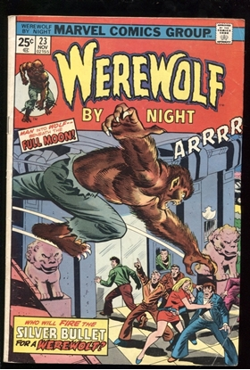 Picture of WEREWOLF BY NIGHT (1972) #23 5.0 VG/FN