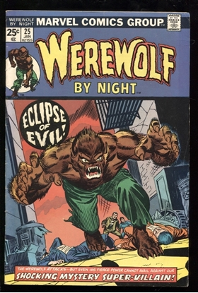 Picture of WEREWOLF BY NIGHT (1972) #25 6.0 FN