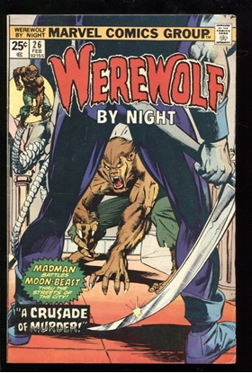 Picture of WEREWOLF BY NIGHT (1972) #26 6.0 FN