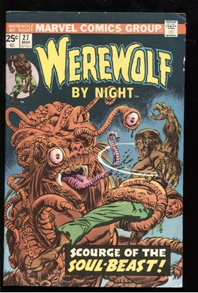 Picture of WEREWOLF BY NIGHT (1972) #27 6.0 FN