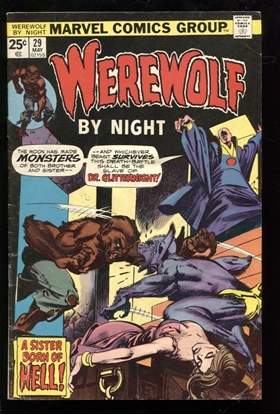 Picture of WEREWOLF BY NIGHT (1972) #29 5.0 VG/FN