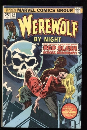 Picture of WEREWOLF BY NIGHT (1972) #30 7.5 VF-